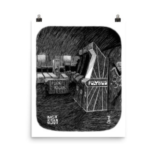 Distorsion Podcast x Mr Willow – Polybius t-shirt (Femmes / Women)