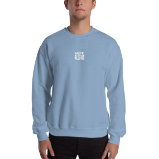 Distorsion Podcast – Logo Blanc Crewneck – Homme & Femme