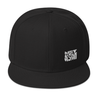 Distorsion Podcast – Casquette de Trucker – White on Black